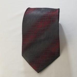 Pierre Cardin Handmade Silk Tie Mens Necktie